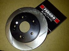 Stoptech Sport Ranurado Delantero Discos De Freno + Ferodo DS2500 Pastillas-Civic Type-R FN2