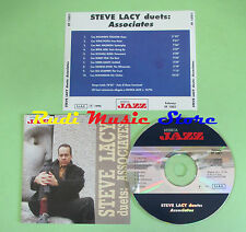 CD STEVE LACY Duets associates 1996 italy MUSICA JAZZ 10/96 (Xs1) no lp mc dvd