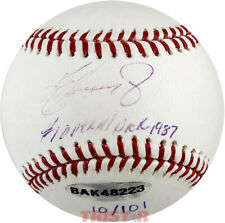 Ken Griffey Jr. Signed ML Baseball Inscribed #1 Overall Pick 1987 LE 10/101 UDA
