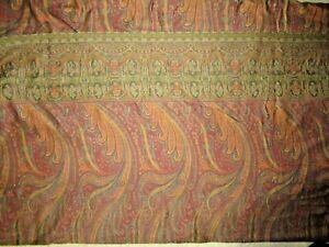 Ralph Lauren Great Barrington Paisley queen Flat Sheet excellent condition