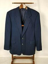 Men's Hugo Boss Blue Pure Lambswool Size 42R Sports Jacket