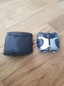 COMPACT 8X21 BINOCULARS WITH SOFT CASE, PRE-OWNED
