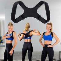 Back Rückenband Haltungskorrektur Rücken Geradehalter Schulter Rückenstütze DE