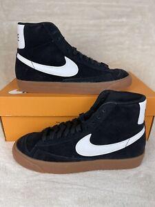 Nike Blazer Mid 77 Black White Gum Womens Size 7 Mens 5.5 DB5461-001