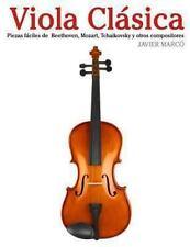 Viola Clásica : Piezas Fáciles de Beethoven, Mozart, Tchaikovsky y Otros...