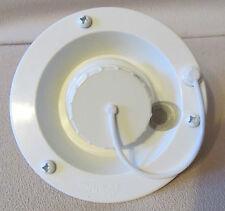 Valterra White Gravity Water Fill Inlet UV Plastic & Screws RV Camper Trailer