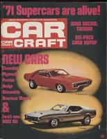 Car Craft October 1970 Chevrolet Plymouth 1971 Road Runner 051220DBE