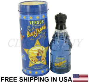 Blue Jeans Cologne by Versace, 2.5 oz / 75 ml Eau De Toilette Spray for men's
