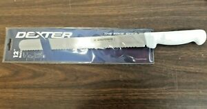 "12"" SCALLOPED BREAD KNIFE COMMERCIAL DEXTER HIGH CARBON STEEL/NSF APPROVED"