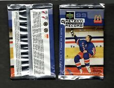 1999 GRETZKY For The PERFORMANCE RECORD Unopened McDonalds 3 pack hockey cards