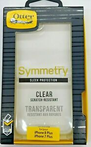 Otterbox Symmetry Series 77-56930 Clear Phone Case for iPhone 8+/7+PLUS NEW