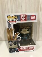 Movies Transformers Autobot Drift  Funko Pop Vinyl