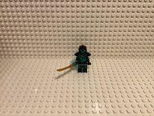 LEGO NINJAGO EVIL GREEN NINJA LLOYD MINIFIGURE MORRO - Bad Condition Head