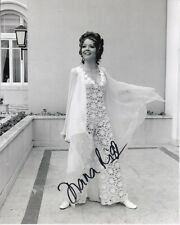 DIANA RIGG signed 007 JAMES BOND ON HER MAJESTY'S SECRET SERVICE TRACY photo