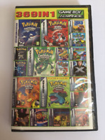 GBA Video Game Compilations 369 In 1 Game Card for Gba Gbm Nds Ndsl Game Machine