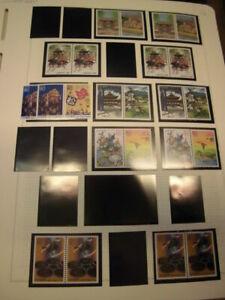 Sammlung Japan aus 2000-2005 postfrisch viele C/D aus Markenheftchen (1477)