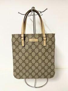 100% authentic Gucci Monogram mini handbag bag made in italy