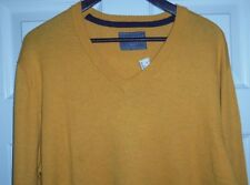 Aeropostale Yellow V-Neck Sweater Size XL NWT