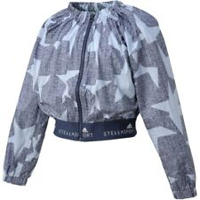 Adidas Stella Sports Graphic Star Jacket Blue Navy Running Recycled RRP £65