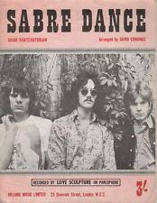 LOVE SCULPTURE Sabre Dance   Melanie UK 1968 Music Sheet