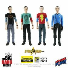 Big Bang Theory 3 3/4-Inch Action Figures Sheldon Variants Set of 4 - SDCC Exc