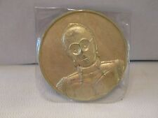 2005 California Lottery Star Wars Commemorative Promo Coin Token  C-3PO  New