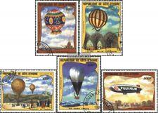 Costa de marfil 772-776 (edición completa) usado 1983 200 años aviación