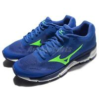 Mizuno Synchro MX 2 Blue Green Navy Men Running Shoes Sneakers J1GE1719-41