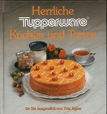 """Buch von Tupperware """"Herrliche Kuchen und Torten"""" – Ausgewählt von Fritz Egner"""