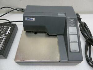 Epson TM-U295P slip printer M117A Dot Matrix Parallel with Power Supply POS RJ11