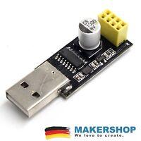 USB ESP8266 ESP01 Seriell Adapter Programmierer ESP 01 UART Arduino