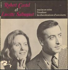 ROBERT CASTEL & LUCETTE SAHUQUET LES ELUCUBRATIONS D'ANTOINETTE 45T EP BARCLAY