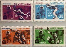 VIETNAM 1982 1268-71 Asien Sportspiele Asia Sports Games Table Tennis Shooting**