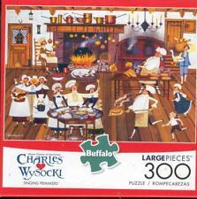 Charles Wysocki  Buffalo Games Puzzle 300Pc Singing Piemakers NIB