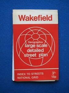 Geographia  Street Map & Street Index - Wakefield   c1970