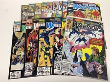 THE NEW WARRIORS #20-32 (MARVEL/TV SHOW COMING/0816231) COMPLETE SET LOT OF 13