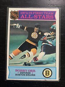 1975 Topps Hockey #288 Bobby Orr Boston Bruins