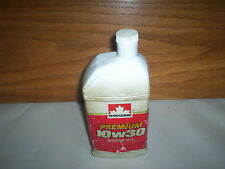 Vintage (1981 Design) Petro Canada 10W30 Motor Oil Bottle Jug Canada 1 Litre
