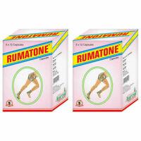 Ayurvedic Rumatone Gathiya Arthritis Joint Pain Treatment 120 capsules