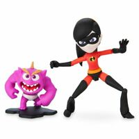 "Disney Authentic Incredibles Violet & Jack Jack Figure Set Pixar Toybox 5"" H NIB"