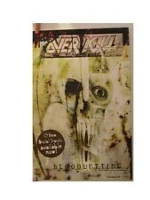 Overkill Poster Bloodletting Over Kill Promo