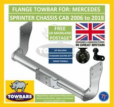 Flange Towbar for Mercedes Sprinter Chassis Cab 2006 to 2018 Tipper 3500kg TM1-B