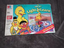 Light and Learn Sesame Street Learning Game Toy Milton Bradley Vintage 1991