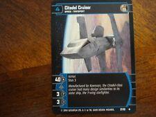 Star Wars TCG TPM 4x Citadel Cruiser