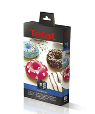 Tefal 2 inserts pour préparer Donuts + Livre de cuisine XA801112