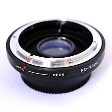 Anello adattatore ottiche Canon FD su NIKON con lente messa a fuoco infinito