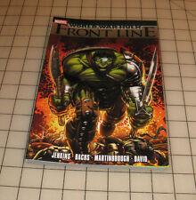 "World War HULK ""Frontline"" 1st Printing (2008) VG-EX COND TPB JENKINS-BACHS-MORE"