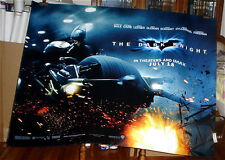 THE DARK KNIGHT BATMAN Christian Bale 5FT subway MOVIE POSTER 2008