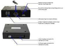 Roland RA800, G800, G600, E-66 E-86 E96 Floppy Drive to USB Converter / Emulator