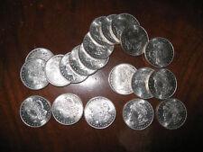 GORGEOUS ROLL OF 20 GEM BU 1921 MORGAN SILVER DOLLARS